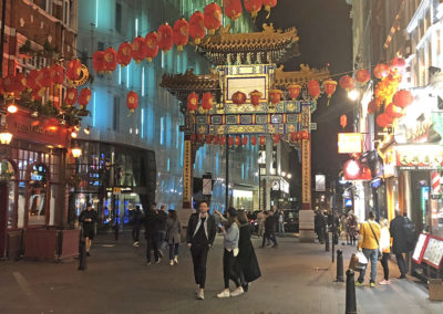 Chinatown's Gate, London