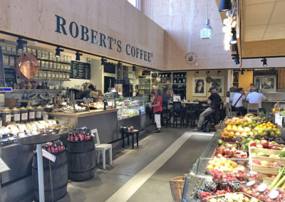 Robert's Coffee in the Salu Market